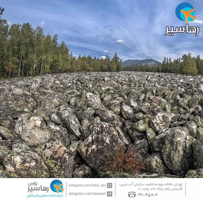 رودخانه سنگی بیگ استون روسیه