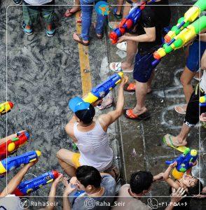 بایدها و نبایدهای جشن آب تایلند