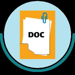 مدارک مورد نیاز برای وک