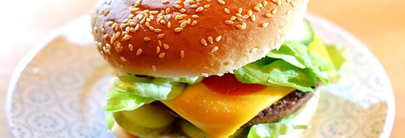 پیدایش همبرگر